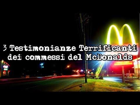 Le Testimonianze più Terrificanti dei commessi del McDonald's