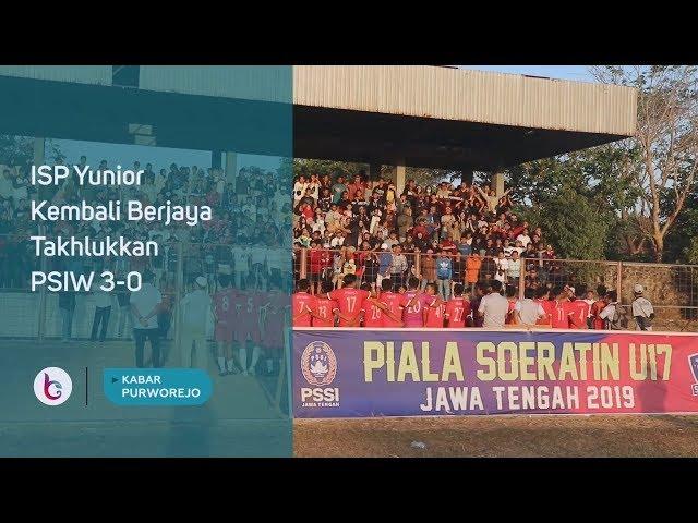 ISP Yunior Kembali Berjaya Takhlukkan PSIW 3-0