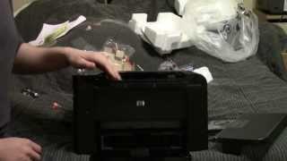 Unboxing: HP P1606dn LaserJet Printer