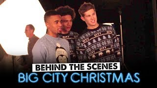 GABRIEL JESUS SINGS BIG SHAQ! | Christmas Retail Shoot 2017 | Behind The Scenes