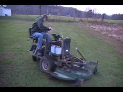 Pull Tow Behind Mower Brush Hog Project Part 13 Trail C