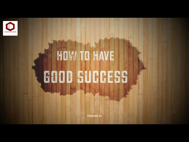 If You Want To Be Successful You Need To Listen To This | House Of Prayer | Ps Thomas Jayaraj