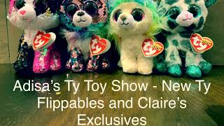 Adisa s New Ty Flippables and Claire s Exclusives Beanie Boos 29dcb0ab267b