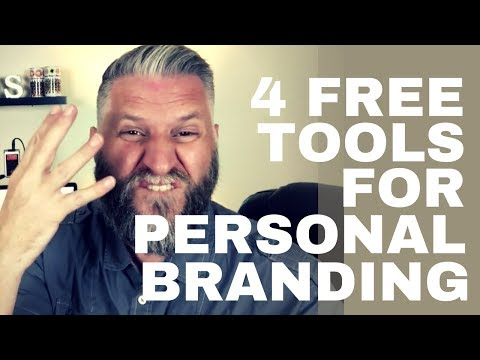 4 Free Tools for Personal Branding - How to Make Your Brand Consistent