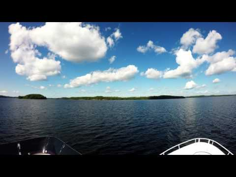 4K Cruise on Lake Saimaa, Pihlajavesi archipelago part 2 [ relaxing piano music ]