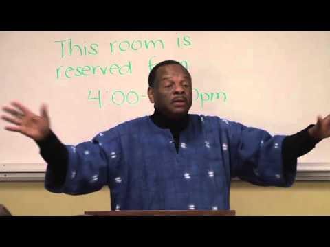 Dr. Molefi Asante: Negritude and the United States of Africa | 13 Nov 2012