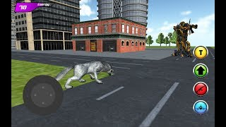 Drift Car Robot vs Battle Wolf (By Omsk Games) Gameplay HD