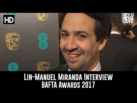 Composer Lin-Manuel Miranda Interview -  BAFTA Awards 2017
