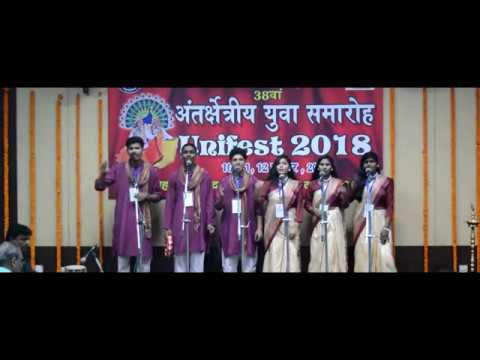 Indian Group Song Hindi Team 5 Rohtak || Inter Zonal Youth F