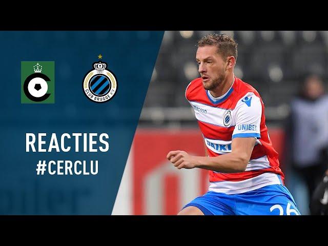 DE REACTIES NA DE BRUGSE STADSDERBY | 2018-2019