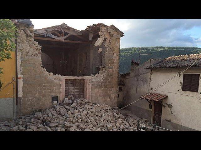 Самые разрушительные землетрясения в Италии