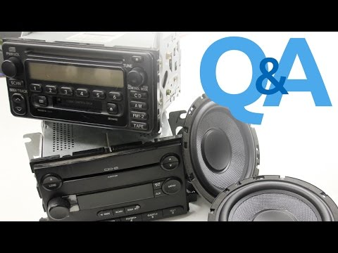 Pairing Speaker Wattage To A Factory Amplified Stereo System | Car Audio Q&A