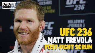 UFC 236: Matt Frevola Predicts Jon Snow Will Be Sitting On Iron Throne At End Of GOT