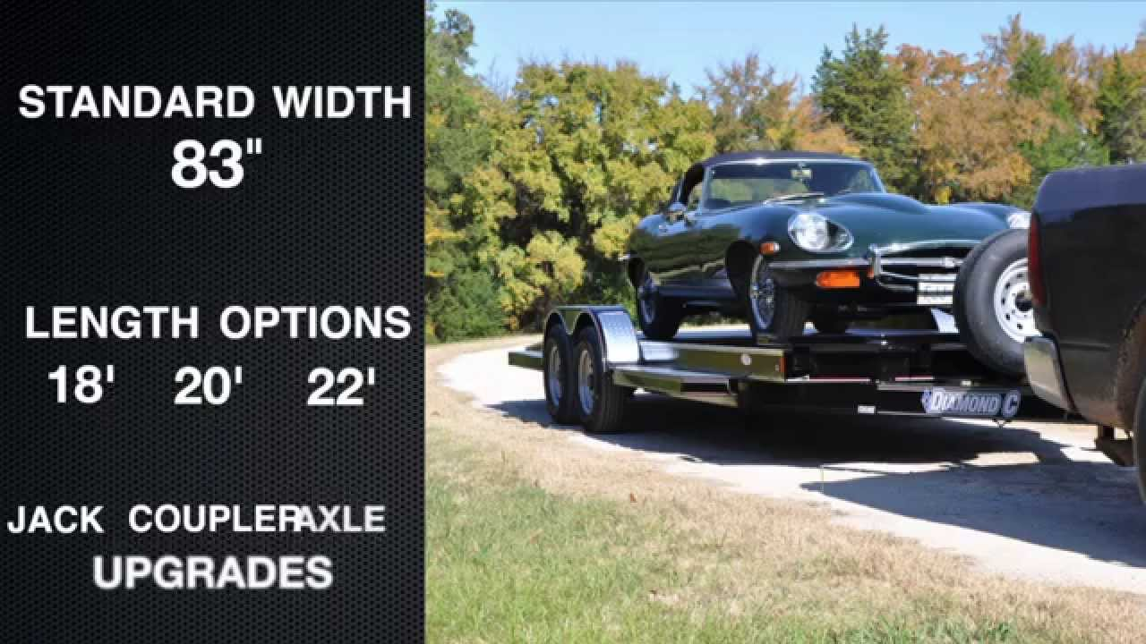 12CHS Deluxe Steel Floor Car Hauler - YouTube