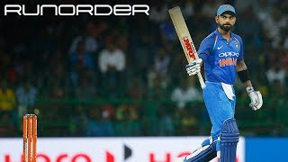 Runorder: Is Kohli up there with Tendulkar and Richards in ODIs?