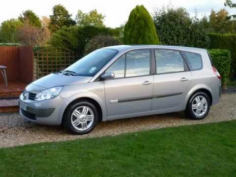 renault grand scenic 2 0 vvt auto 2005 for sale sdsc speciaiist cars youtube. Black Bedroom Furniture Sets. Home Design Ideas