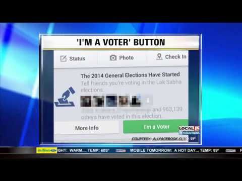 'I'm a Voter' Button on Facebook Coming Back