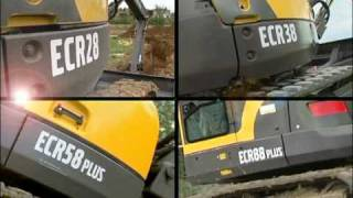 Volvo Mini Excavators ECR38, ECR58Plus and ECR88Plus Presentation