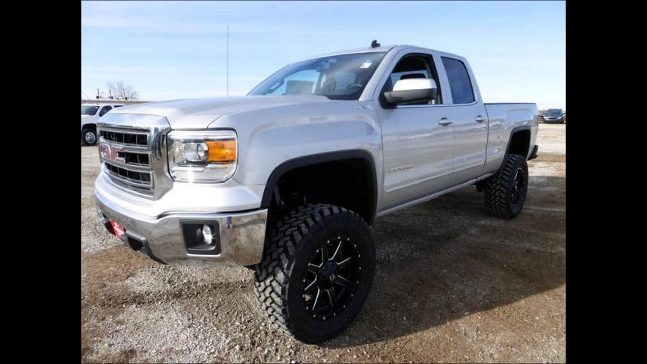 Used Jeeps For Sale >> 2014 GMC Sierra 1500 SLE Double Cab 4-Wheel Drive Lifted ...