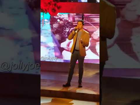 Alden Richards singing I will be here for you for Mother's Day Special at Eat Bulaga