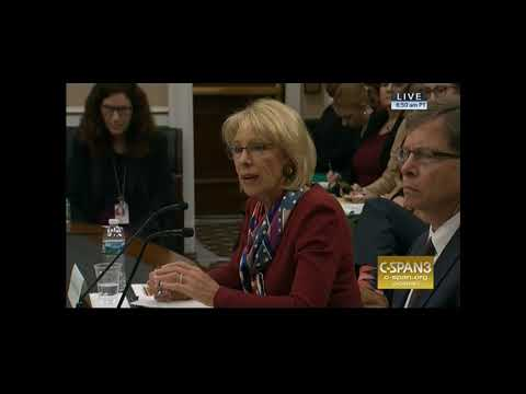 Rep Lee Demands Answers from Ed Sec Betsy DeVos (part 2)