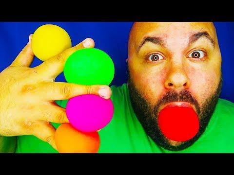 6 Magic Tricks with Balls!