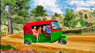 Mountain Auto Tuk Tuk Rickshaw : New Games 2021 NHK Games Pro screenshot 2