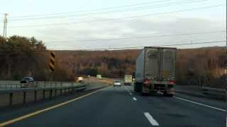 Interstate 84 - New York (Exits 1 to 2) eastbound