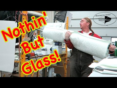 Fiberglassing The Coosa Hatch Covers And Frame!