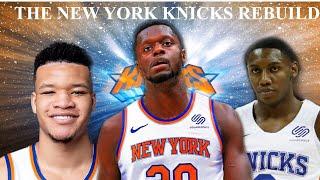 REBUILDING THE NEW YORK KNICKS! NBA 2k20 MY LEAGUE