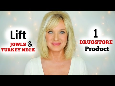 Lift JOWLS & TURKEY NECK!  1 DRUGSTORE Product! Under $15