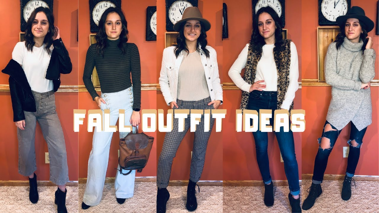 [VIDEO] - Fall + Winter Outfit Ideas | 8 Partially Thrifted Looks 3