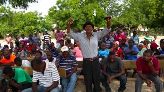 Reaction from local residents in Haiti