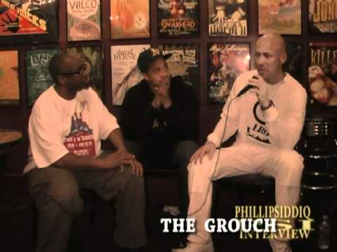 Phillip Siddiq Sneek Peak ZUMBI of  ZION I and The GROUCH interview.mpg