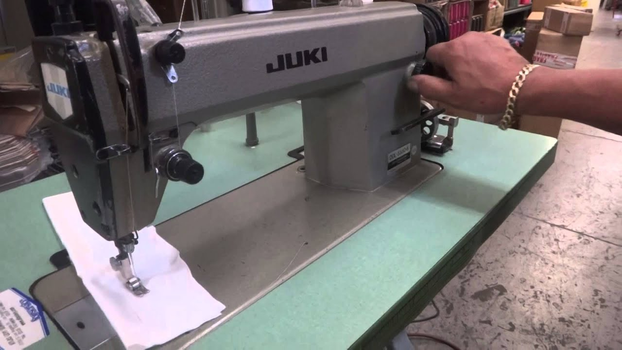 Juki Ddl 555 5 Manual One Word Quickstart Guide Book 227 552 553 Sewing Machine Threading Diagram Single Needle 5550 6 Youtube Rh Com