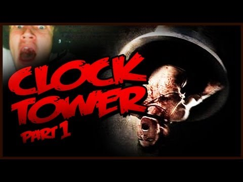 [Funny, Horror] Clock Tower Part 1 - FRICKIN DWARVEN SCISSORMAN!!!