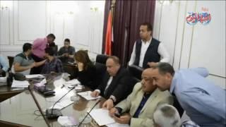 أخبار اليوم | وزيرة التضامن تتابع تداعيات الحادث الإرهابي من غرفة عمليات محافظة المنيا