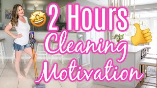 🤩CLEAN WITH ME MARATHON | 2 HOURS OF CLEANING | EXTREME CLEANING MOTIVATION