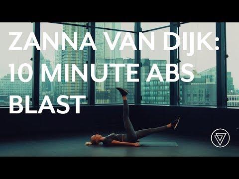 10 Minute HIIT Workout | Abs | Zanna Van Dijk