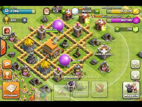 Comment attaquer clash of clan hdv 5