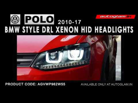 AGVWP962-Volkswagen Polo 2010-17 BMW STYLE HID Projector Headlights