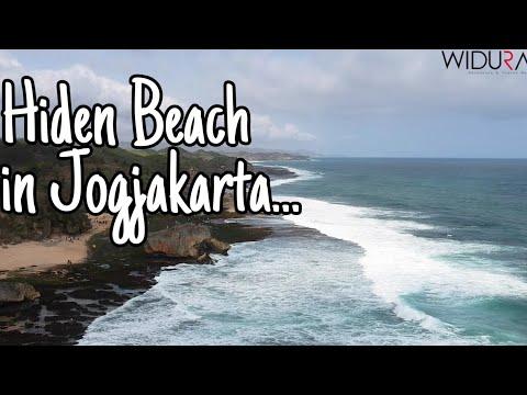 tempat-wisata-jogja,-pantai-tersembunyi-mbuluk-gunung-kidul-yogyakarta-#droneview