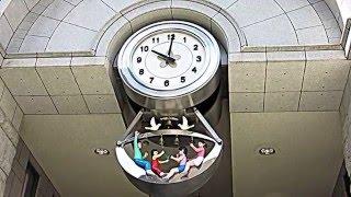 中央区立日本橋小学校からくり時計
