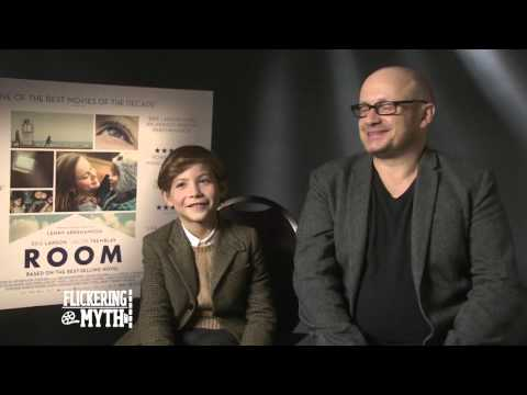 Room director Lenny Abrahamson and actor Jacob Tremblay  Exclusive