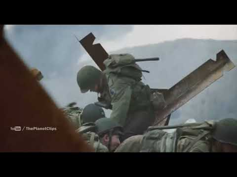 United States Army Rangers Vs Armed Forces Of Nazi Germany | Saving Private Ryan War Scene