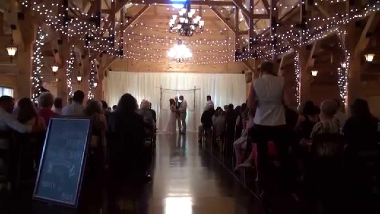 Canopy Creek Farms Ceremony Wedding Traditional Equipment Option