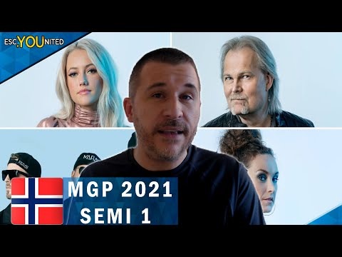Melodi Grand Prix 2021 Semi-Final 1 REACTION & TOP 4 | NORWAY EUROVISIOn 2021