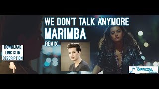 Charlie puth - we don't talk anymore ...