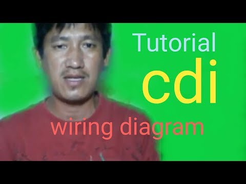Tutorial CDI wiring diagram and connections.