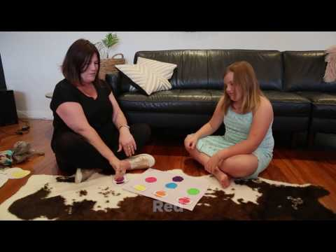 New Zealand Sign Language - Colours (Matching Game)